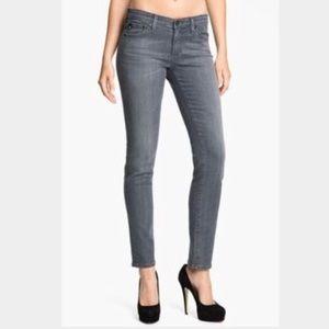 J Brand Cigarette Leg 914 PTR Gray Jeans